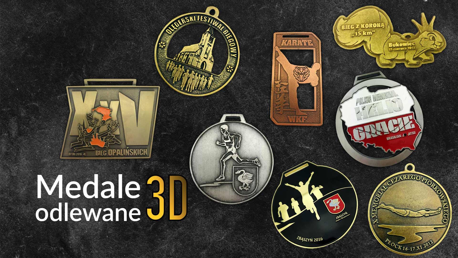 medale 3d